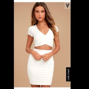 Lulu's By Your Side two-piece dress